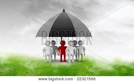team standing