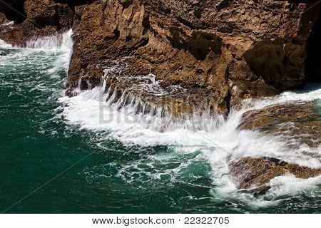 Energía de la onda de océano