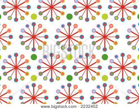 Retro Color Wheel Pattern (Vector)