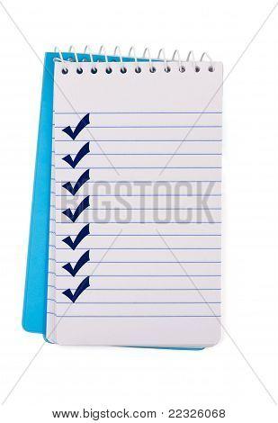 Creating A Checklist