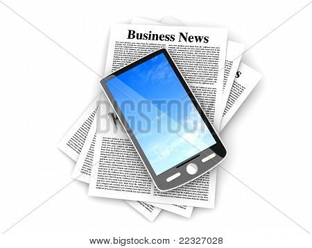 Smartphone In The Business News.
