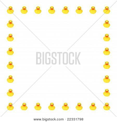Toy Duck Border