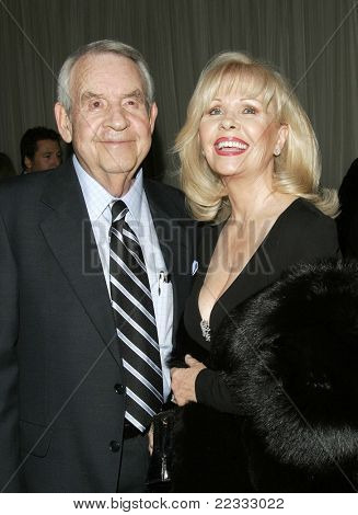 BEVERLY HILLS, CA - DEC 1: Tom Bosley; wife Patti Carr at the 6th annual Family Television Awards at the Beverly Hilton Hotel on December 1, 2004 in Los Angeles, California