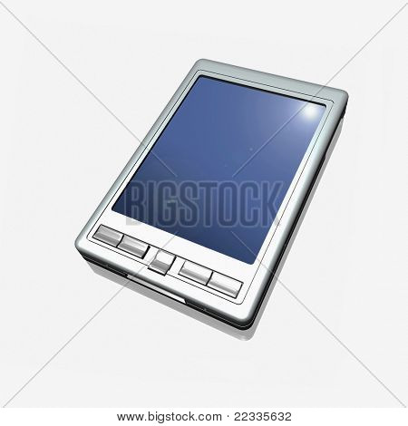 Pocket PC on a white background
