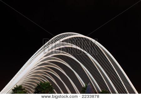 Futuristic Building In Valencia, Spain