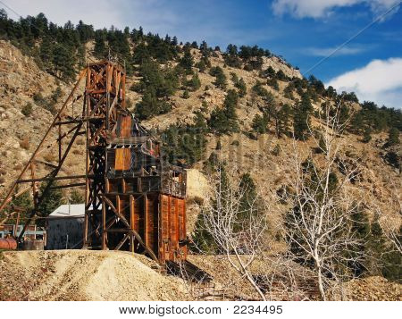 Old Gold Mine In Colorado