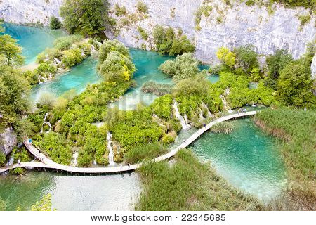 Unesco, Plitvicka Lake - Croatia