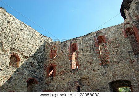 Inside Cesis Castle
