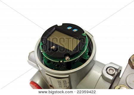 Pressure transmitter.