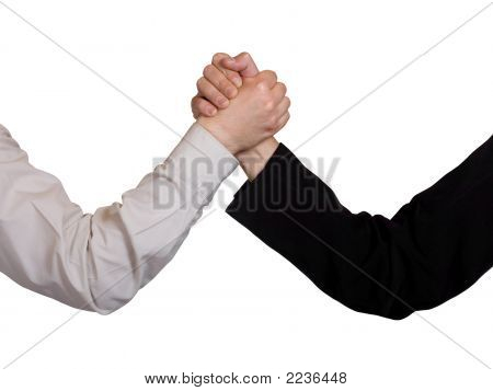 Two Hands, Arm Wrestling