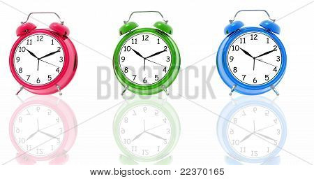 RGB alarm clocks