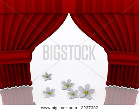 Stage With Flower