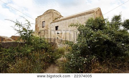 Dis-used Limestone Church In Cappadocia