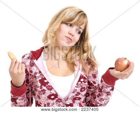 Apple Or Cookie?