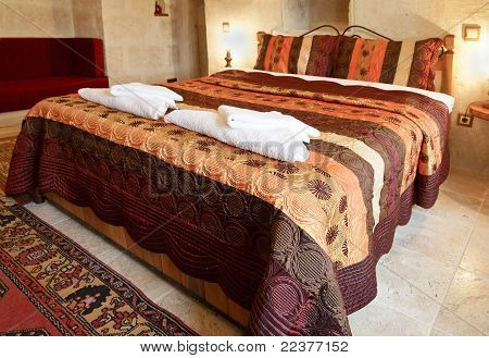Interior Design Large Bed Comfy Sofa