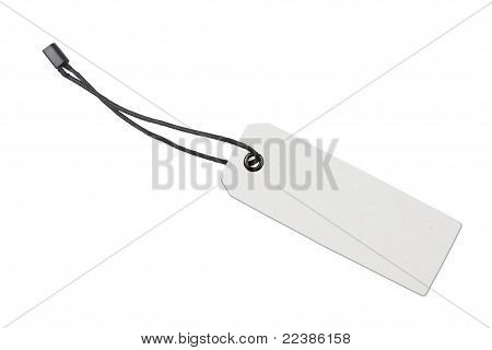 Blank Product Label Tag