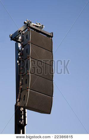 event performance loud speaker