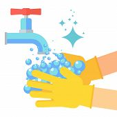hand washing poster