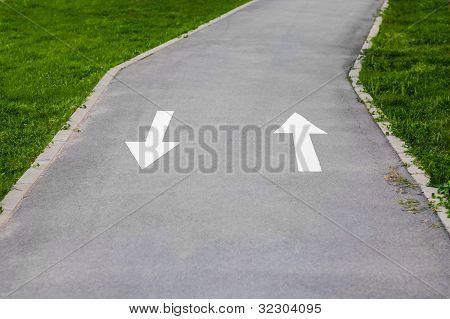 Bike Route.