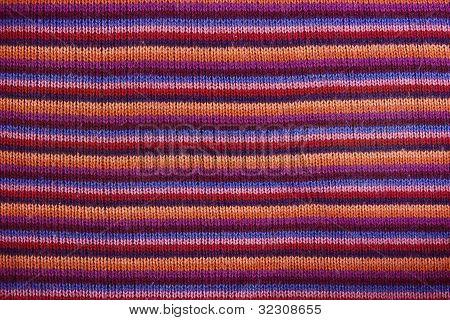Close-up Of A Woolen Pattern