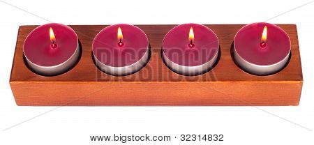 Four Burning Candles
