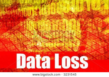 Data Loss System Message