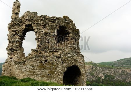 Old ruins of the medieval tower