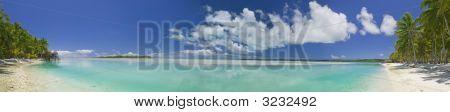 Tropical Dream Beach Paradise Panoramic