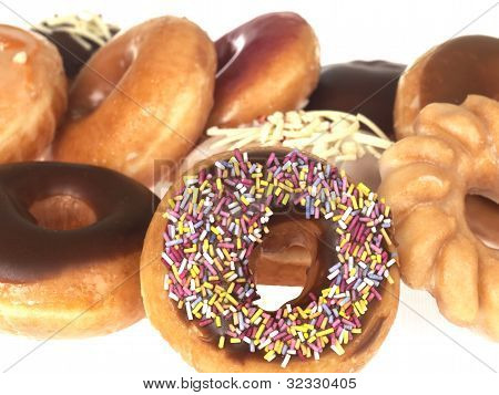 Selection of Mixed Doughnuts