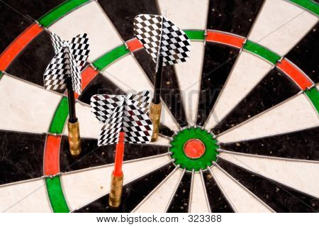 Three Darts Off The Mark