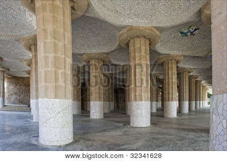 Hypostyle Hall, Barcelona, Spain