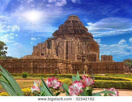Sun Temple, Konark, India, Rear View