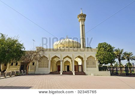 Mosque in Dubai Bastakiya District, UAE