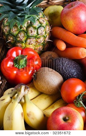 Fruit And Vegetable Selection