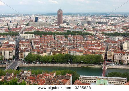 Cityscape Of Lyon