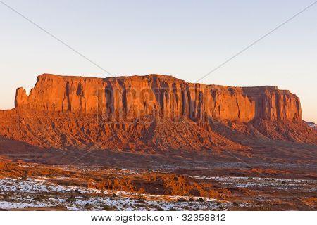 Sentinel Mesa, Monument Valley National Park, Utah-Arizona, USA