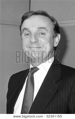 LONDON - DECEMBER 12: Richard Ottoway, Conservative party Parliamentary Candidate for Croydon South, attends a photo call on December 12, 1990 in London. He was previously M.P. for Nottingham North.