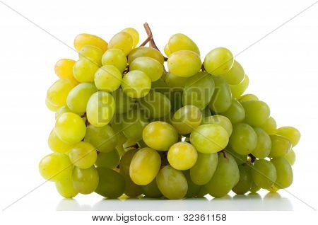 Ripe White Grapes