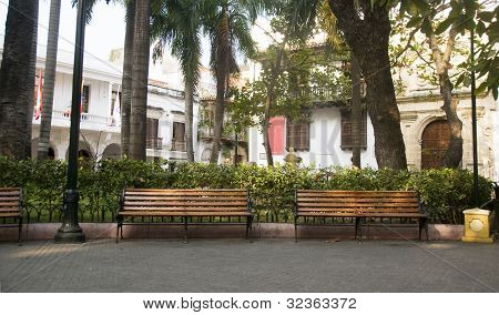 Bolivar Park  Museum Of History Palace Of The Inquistion Cartagena Colombia South America