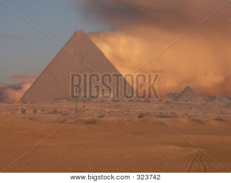 Sandstorm Pyramids
