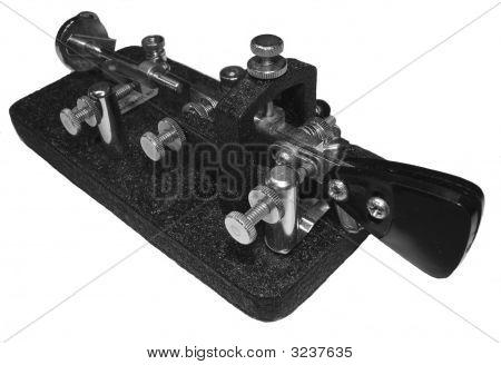 Morse Code Key Semiautomatic