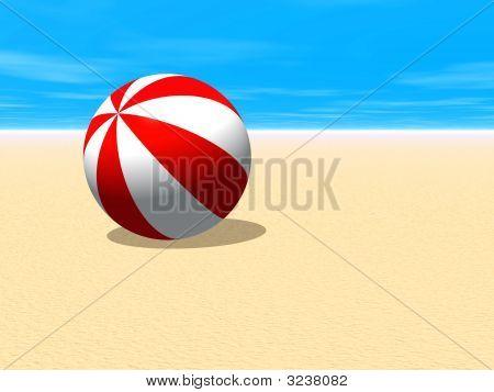 Beach Ball Sand
