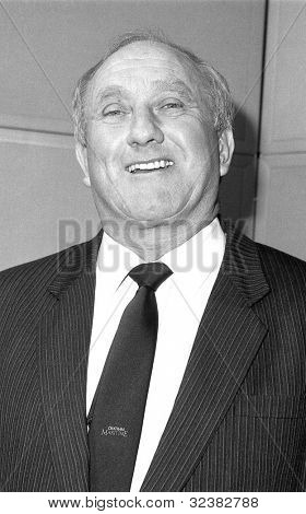LONDON - DECEMBER 12: Don Rossiter, Conservative party Parliamentary Candidate for Dagenham, attends a photo call on December 12, 1990 in London.
