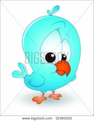 Cute Baby Bird