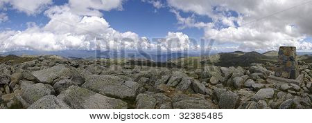 Monument On The Top Of Mount Kosciuszko (2228 M). Australia.