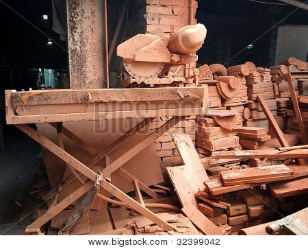 Old Brick Making Factory