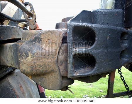 Old Railway Coupling Device