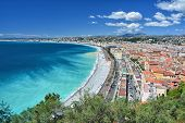 Nice, French Riviera Cote Dazur In Provence, France poster