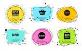 Super Symbol. Best Seller, Quote Text. Special Offer Sign. Best Value. Quotation Bubble. Banner Badg poster