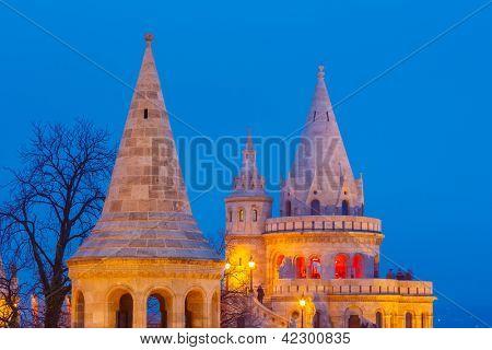 Fishermen's Bastion in Buda Castle, Budapest